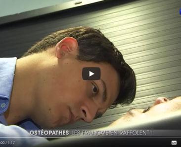 reportage tf1 osteopathie en france