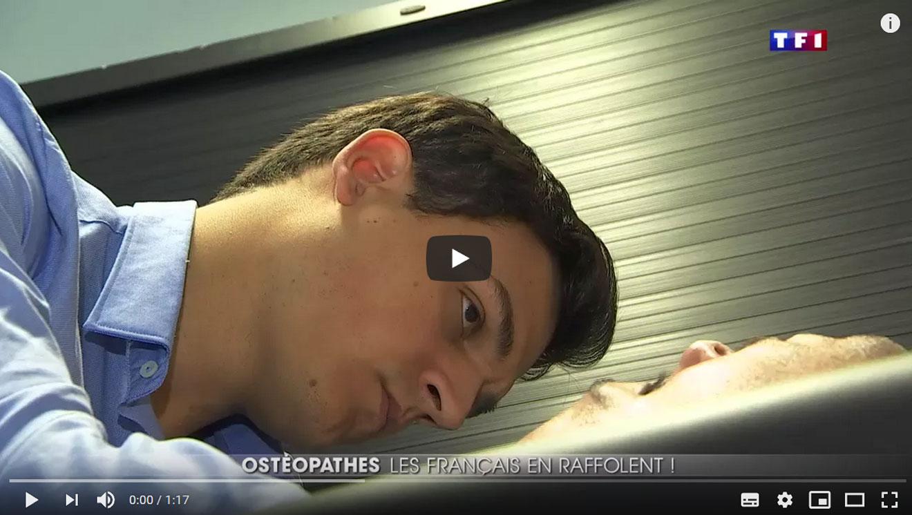Reportage au 20 h de TF1 : Ostéopathie, les Français en ...
